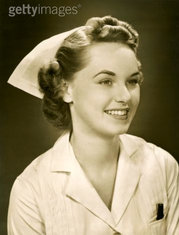 how to put on a nursing cap